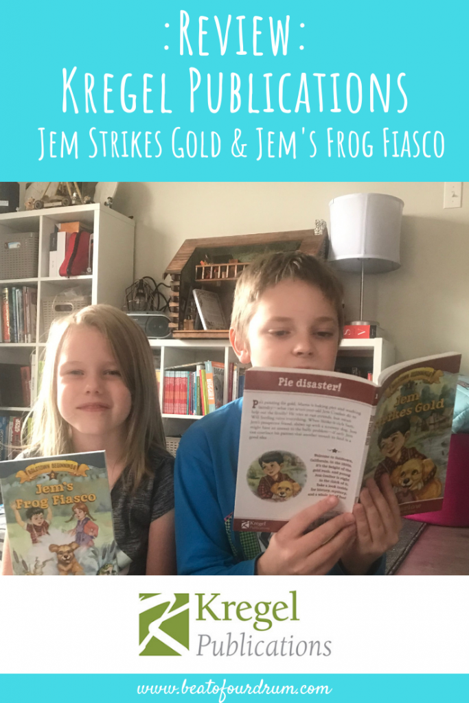 Kregel_Publications_Review_Jem_Strikes_Gold_Jem's_Frog_Fiasco